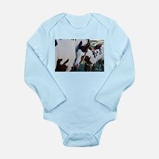 Painted doll Long Sleeve Infant Bodysuit