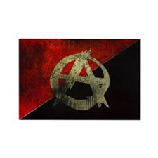 Anarcho Rectangle Magnet (10 pack)