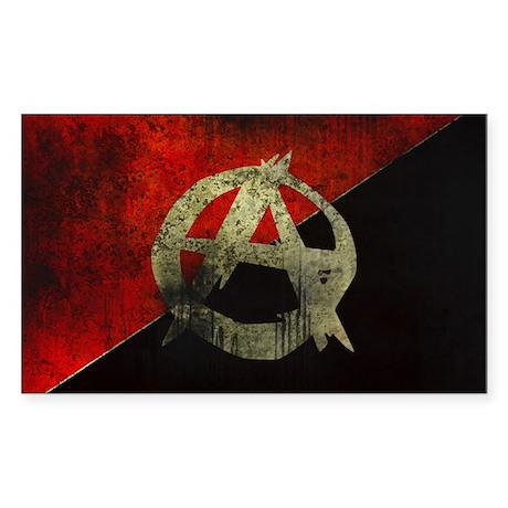 Anarcho Sticker (Rectangle)