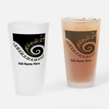 personalized mixed musical no Pint Glass