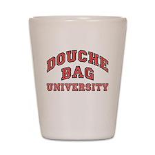 Douchebag University Shot Glass