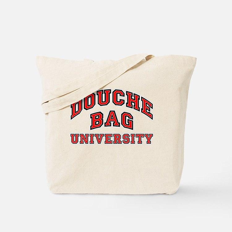 Douchebag University Tote Bag