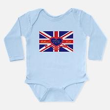 Unique Catherine middleton Long Sleeve Infant Bodysuit