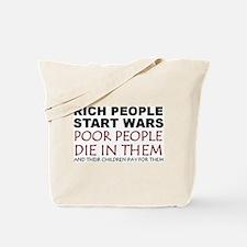 NO MORE WAR! Tote Bag