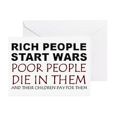 NO MORE WAR! Greeting Cards (Pk of 10)