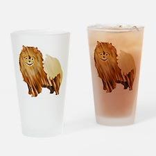 Pomeranian Pint Glass