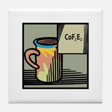 Chemical Coffee Tile Coaster