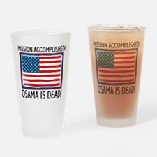 Osama Pint Glass