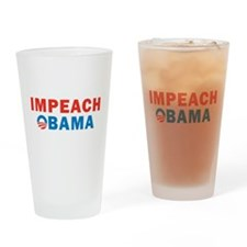Impeach Obama Pint Glass