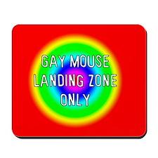 Gay Mouse Landing Mousepad