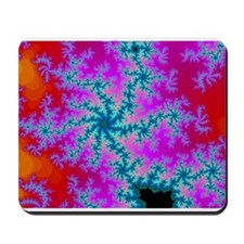 Mousepad with fractal