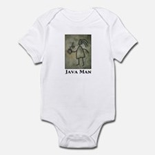 Java Man Infant Creeper
