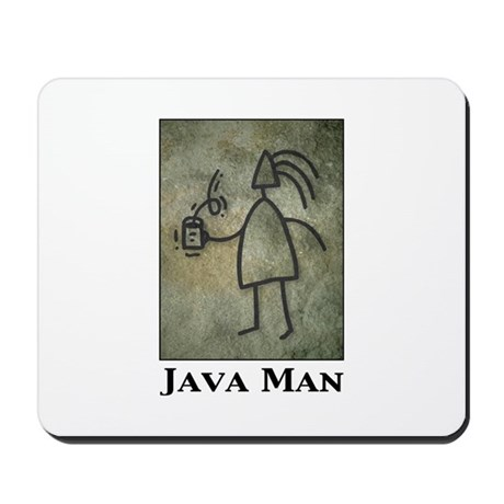 Java Man Mousepad