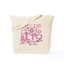 Funny Alto Tote Bag