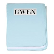 Gwen baby blanket