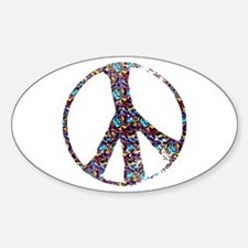 Colorful Peace Decal