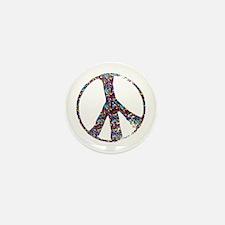 Colorful Peace Mini Button (100 pack)