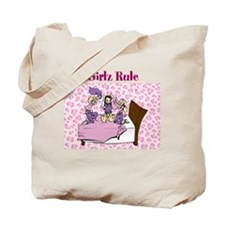 Girlz Rule Tote Bag