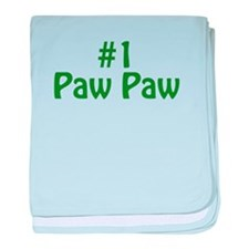 #1 Paw Paw baby blanket
