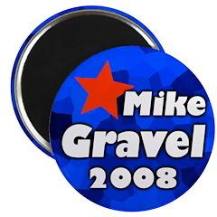 Mike Gravel for President Magnet