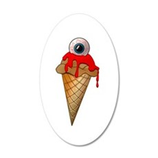 Eyescream 22x14 Oval Wall Peel