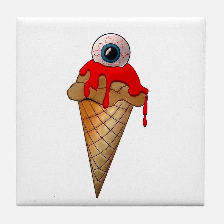 Eyescream Tile Coaster