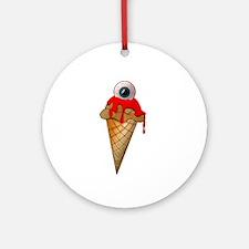 Eyescream Ornament (Round)