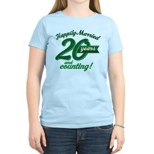 20 Years Anniversary Gift T-Shirt