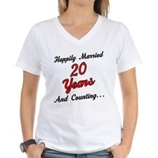 20th Anniversary Gift Married Shirt