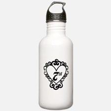 7th Anniversary Love Gift Water Bottle
