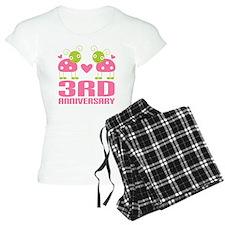 3rd Anniversary Love Gift Pajamas