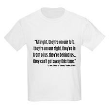 """Lt. Gen. Lewis B. """"Chesty"""" Puller Kids T-Shirt"""