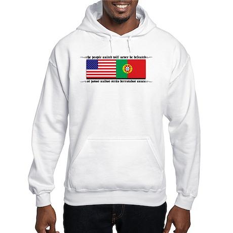 USA - Portugal Hooded Sweatshirt