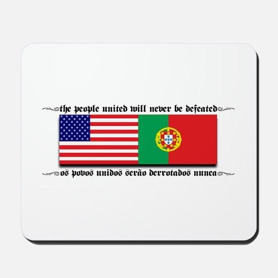 USA - Portugal Mousepad