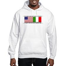 USA - Italy Hoodie