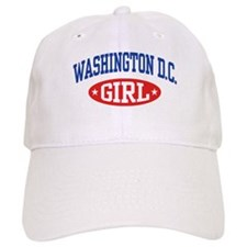 Washington DC Girl Baseball Cap