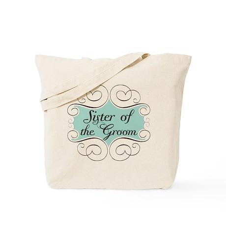 Sister of the Groom Beautiful Tote Bag