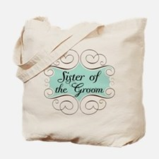 Sister of the Groom Beautiful Tote Bag