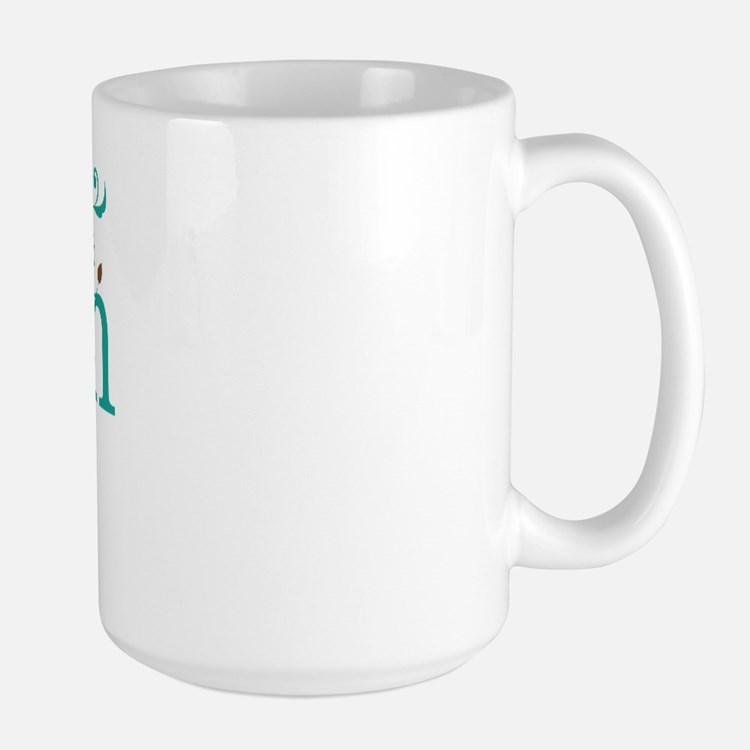 Sister of the Groom Swirl Large Mug