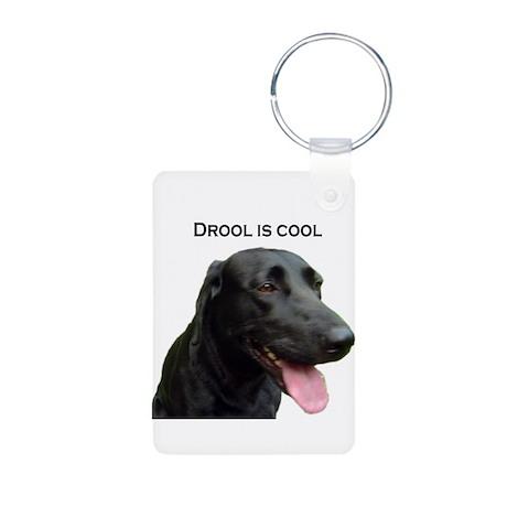 drool is cool Aluminum Photo Keychain