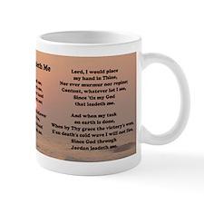 He Leadeth Me Mug