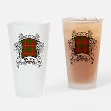 Bruce Tartan Shield Drinking Glass