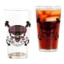 Chapman Tartan Skull Drinking Glass