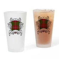 Crawford Tartan Shield Drinking Glass