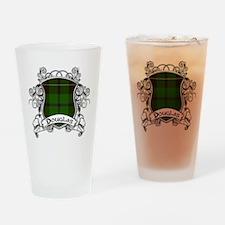 Douglas Tartan Shield Drinking Glass