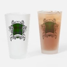Henderson Tartan Shield Drinking Glass