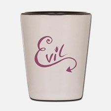 Evil !! Shot Glass