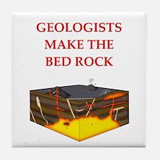 i love geology Tile Coaster