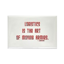 Logistics is the art of moving armies Rectangle Ma