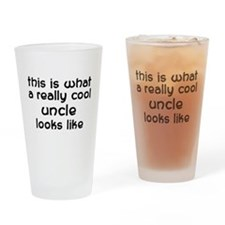 Cool Uncle Pint Glass